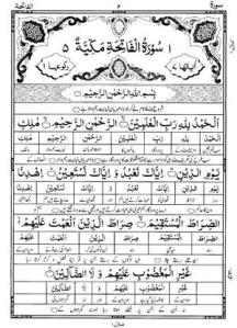 Al Quran Al Kareem – Faiq -ul- Bayan – By Shah Rafi -ud- Deen (r.a) Tarjamah (Salees) By Fateh Muhammad Jalandhri (r.a) 1