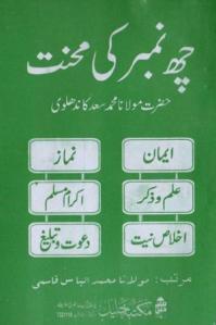Chhay (6) Number Ki Mehnat By Shaykh Muhammad Saad Kandhelvi