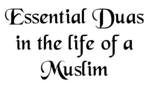 Essential Duas in the Life of a Muslim