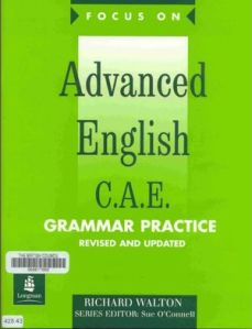 Advanced English C.A.E Grammer Practice
