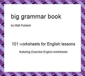 BIG GRAMMAR BOOK BY MATT PURLAND