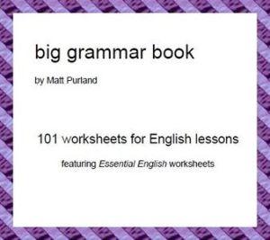 BIG GRAMMAR BOOK BY MATT PURLAND