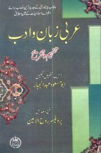 Arbi Zuban o Adab by Abu Masood Abdul Jabbar