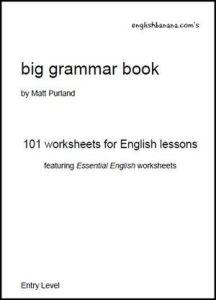 English Banana's Big Grammar Book by Matt Purland