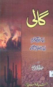 Gali Aik Sanghen Jurm Aik Khatarnak Gunah by Abdul Manan Rasikh