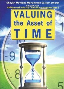 Valuing The Asset Of Time By MuhammadSaleem Dhorat